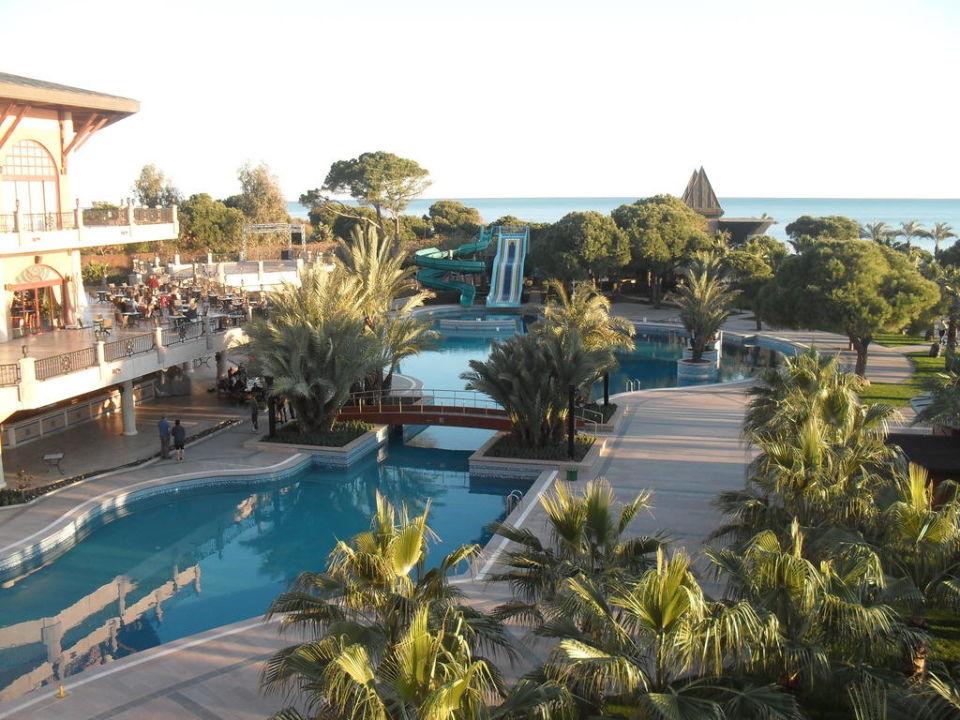 Das war der Pool in Meerrichtung Papillon Zeugma Hotel