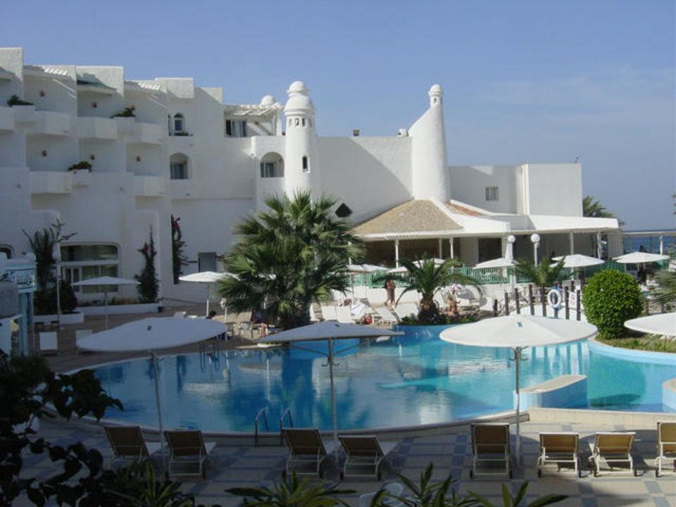 Hotel Mouradi Skanes Beach, Pool - Tunesien Hotel El Mouradi Skanes Beach
