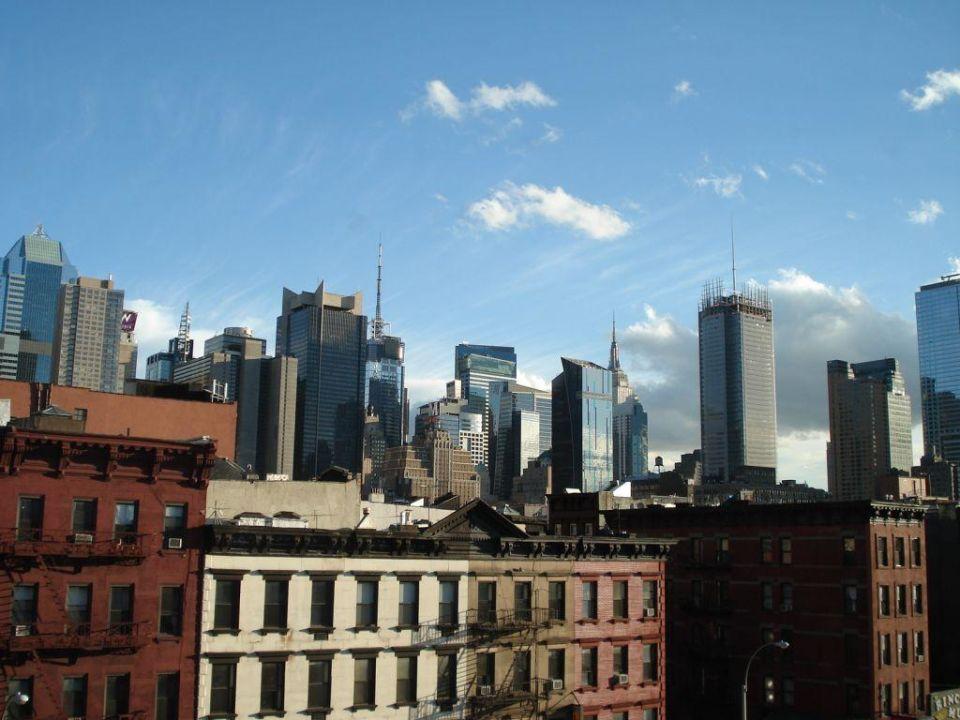 blick aus dem fenster hotel skyline new york new york manhattan holidaycheck. Black Bedroom Furniture Sets. Home Design Ideas