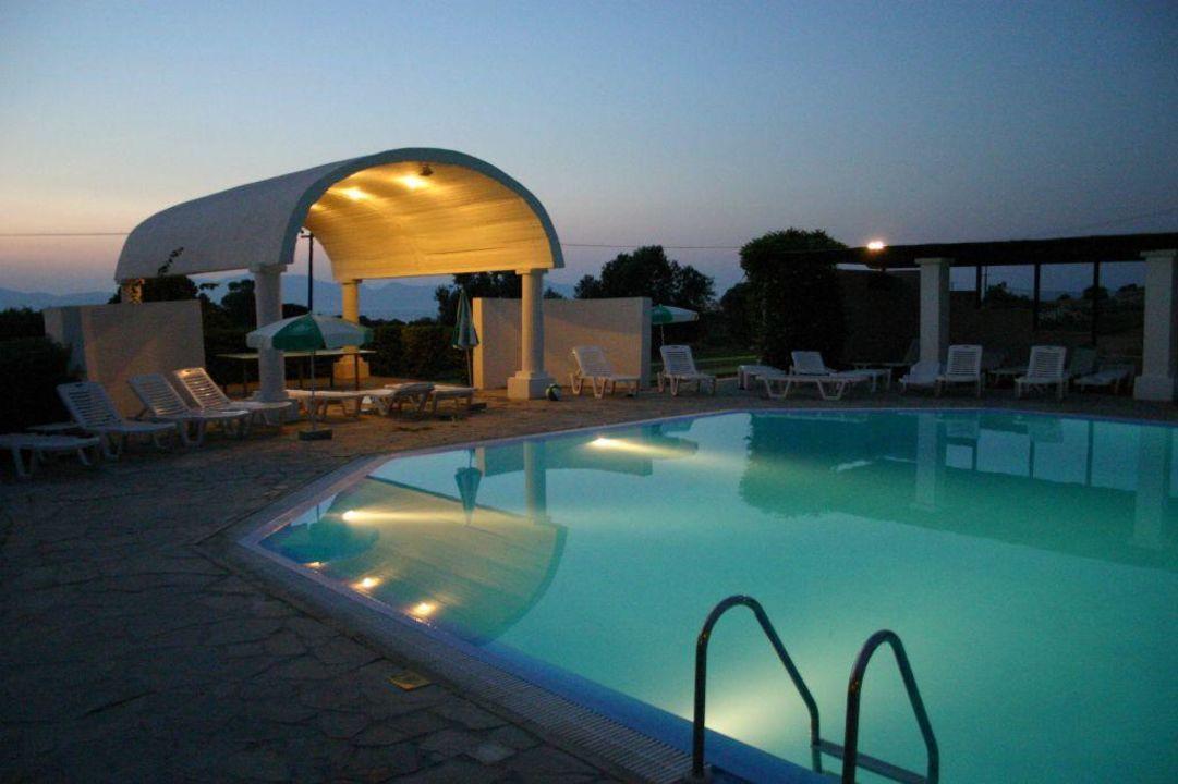 Abendstimmung Hotel Kouros Club  (geschlossen)