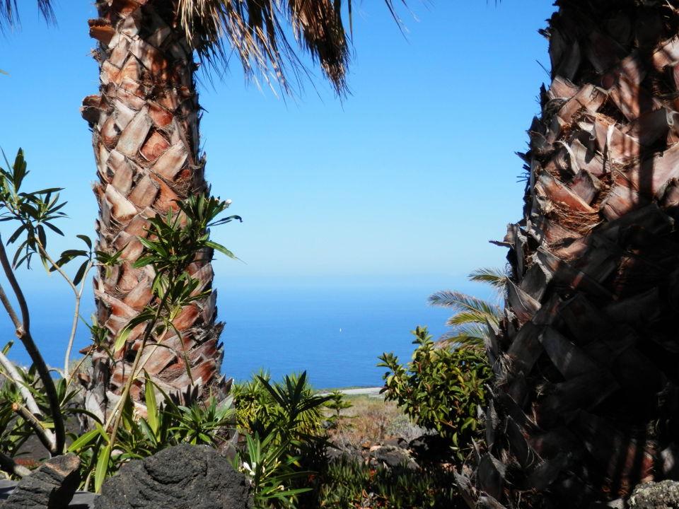 Aussicht von der Terrasse Casa Petra