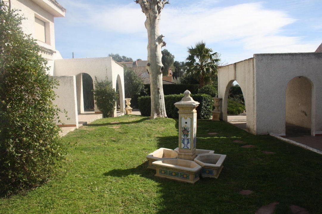 Jardin habitaciones Hotel La Carreta