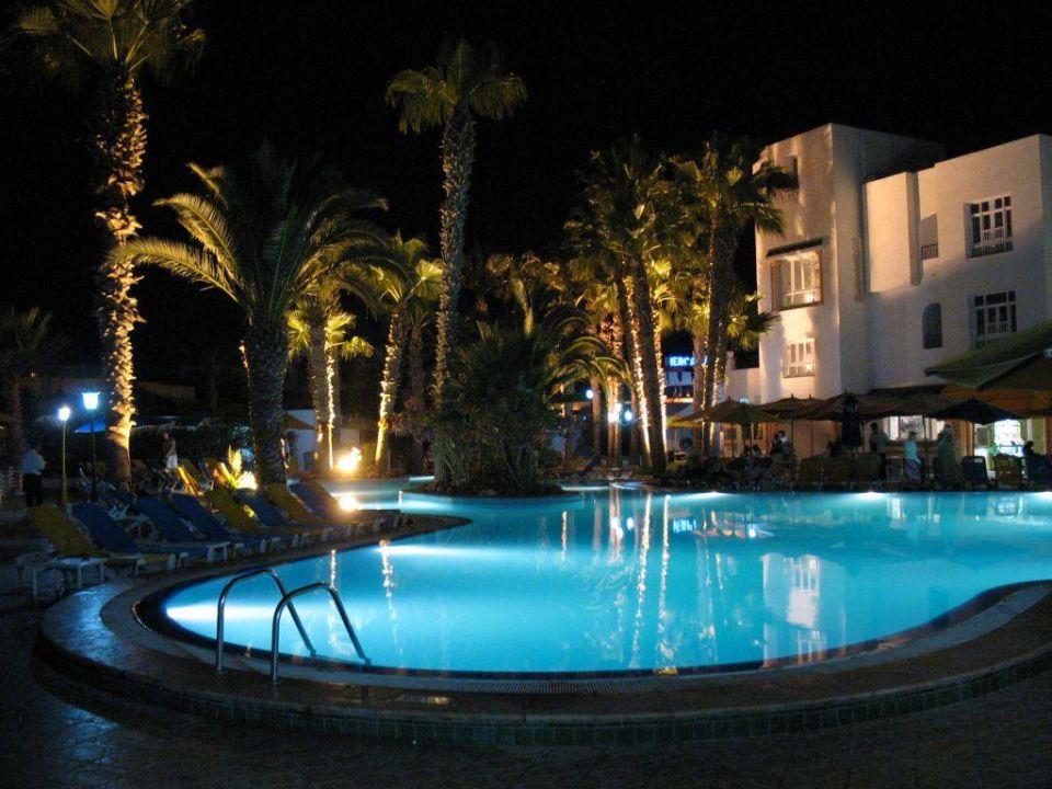 Schwimmbad Hotel Nesrine