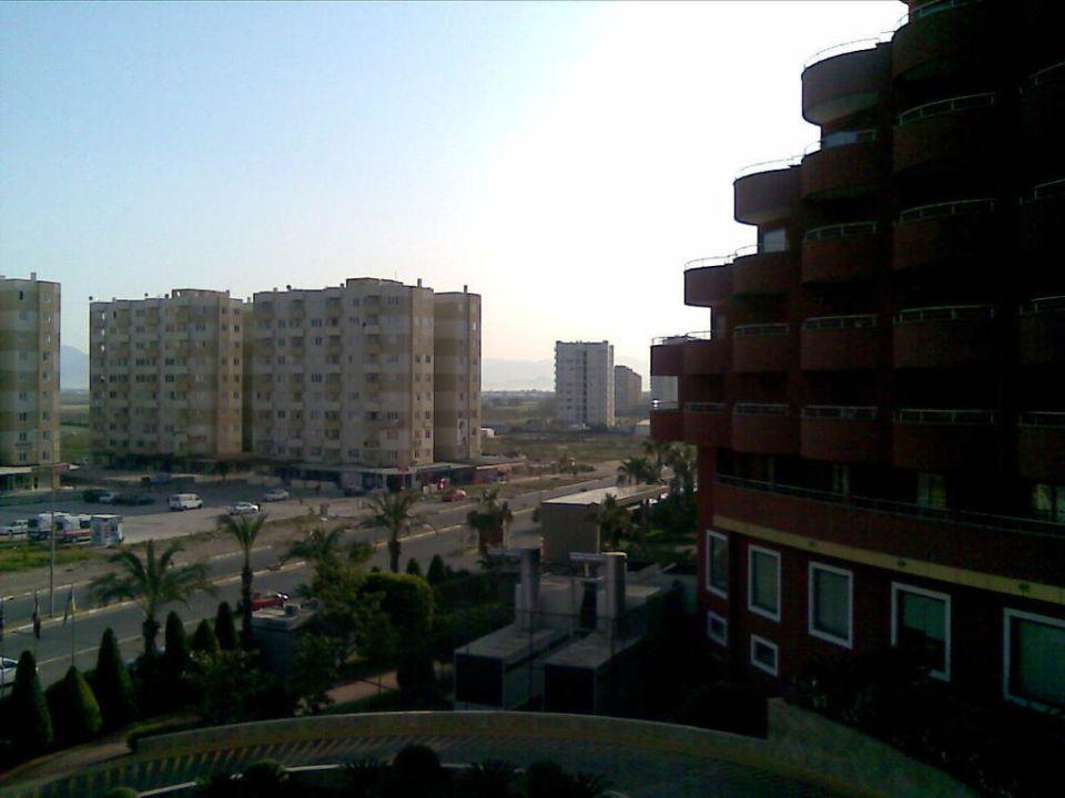 Ausblick Richtung Osten Hotel Delphin Palace
