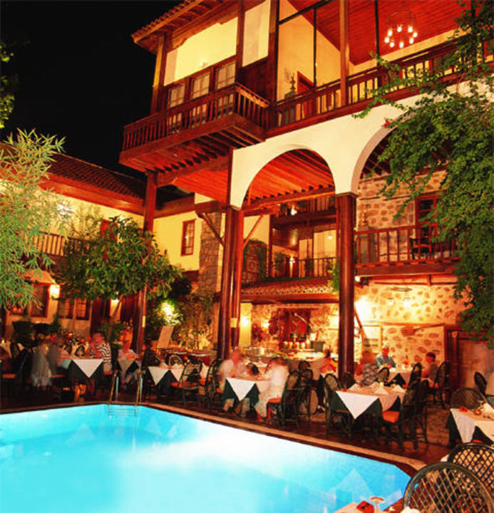 Abendessen Alp Pasa Boutique Hotel Altstadt