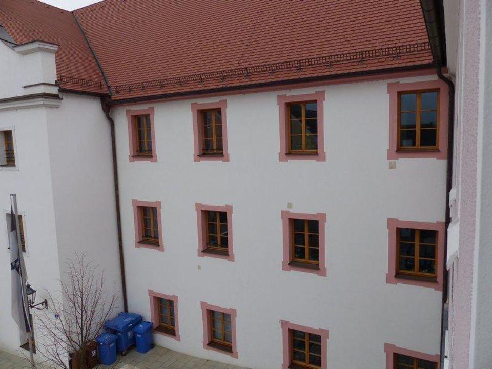 Ausblick vom Zimmer Altstadthotel Kneitinger