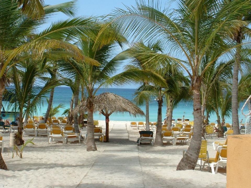 Strand des Viva Dominicus Palace Hotel Viva Wyndham Dominicus Palace