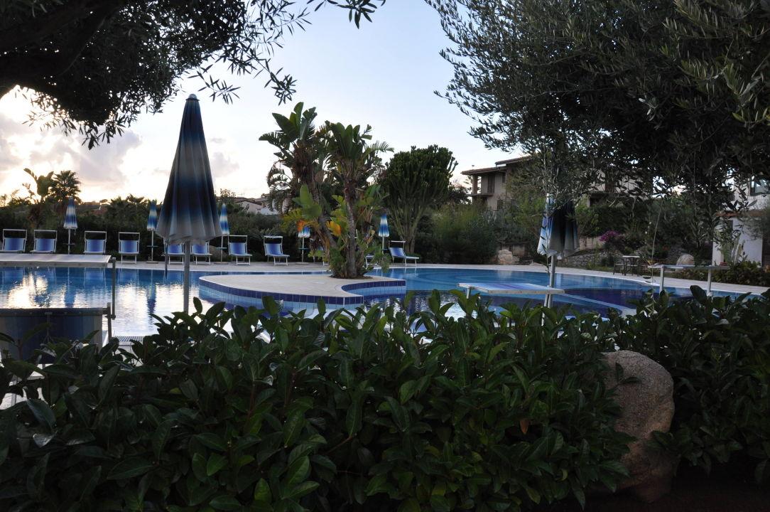 Abendansicht Hotel Il Gattopardo