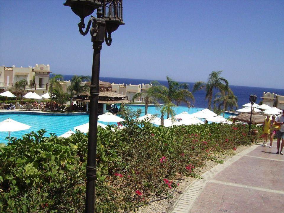 Pool-Landschaft - Concorde El Salam Concorde El Salam Hotel Sharm el Sheikh