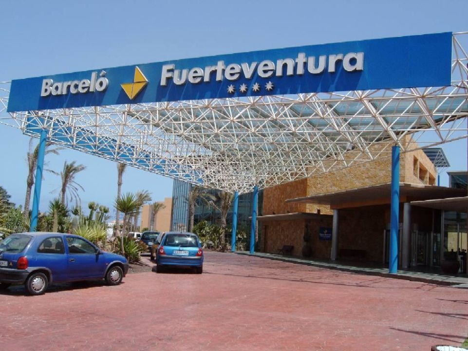 Hoteleingang Hotel Barceló Fuerteventura Thalasso Spa