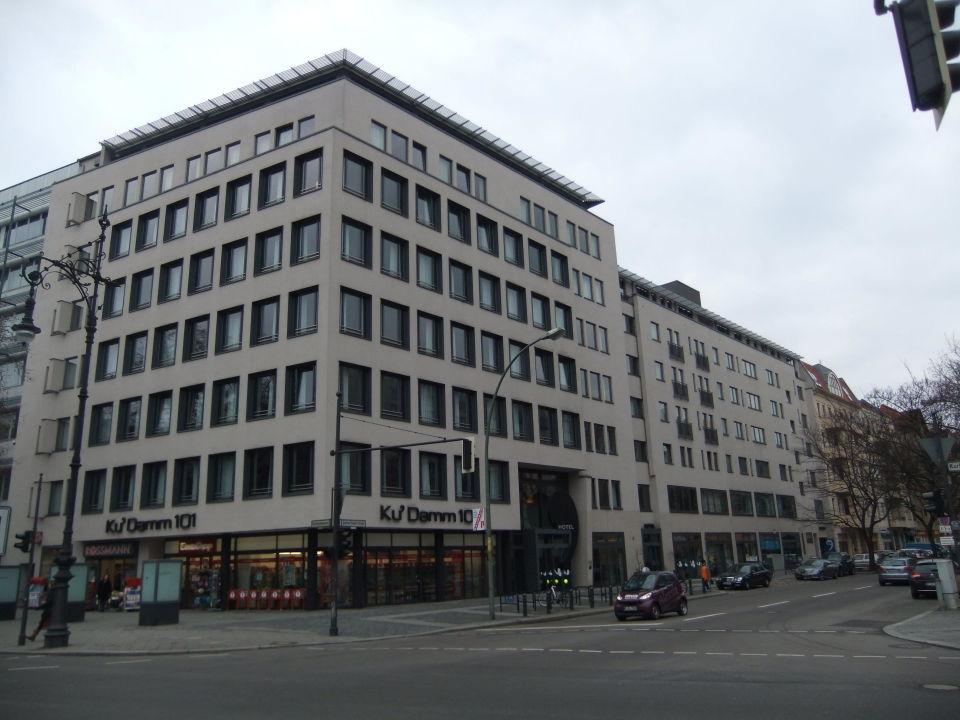 Hotel fassade vom kurf rstendamm aus ku 39 damm 101 design for 101 design hotel berlin