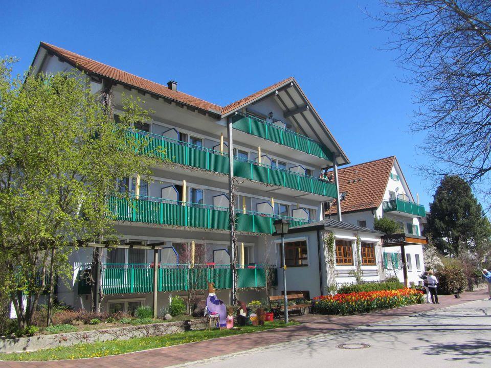 Das Edelweiß von vorne Kneipp- und WellVitalhotel Edelweiss