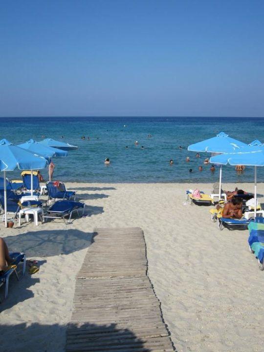 Strand Aegean Melathron Thalasso Spa Hotel Kallithea