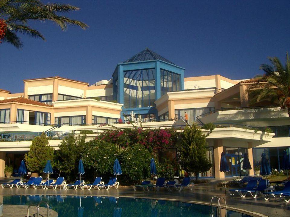 Ansicht vom Pool Hotel Rodos/Rhodos Princess Beach
