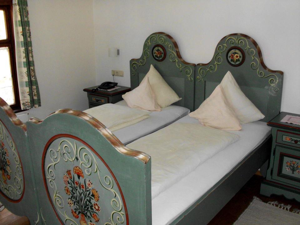 Doppelbett im Landhausstil\