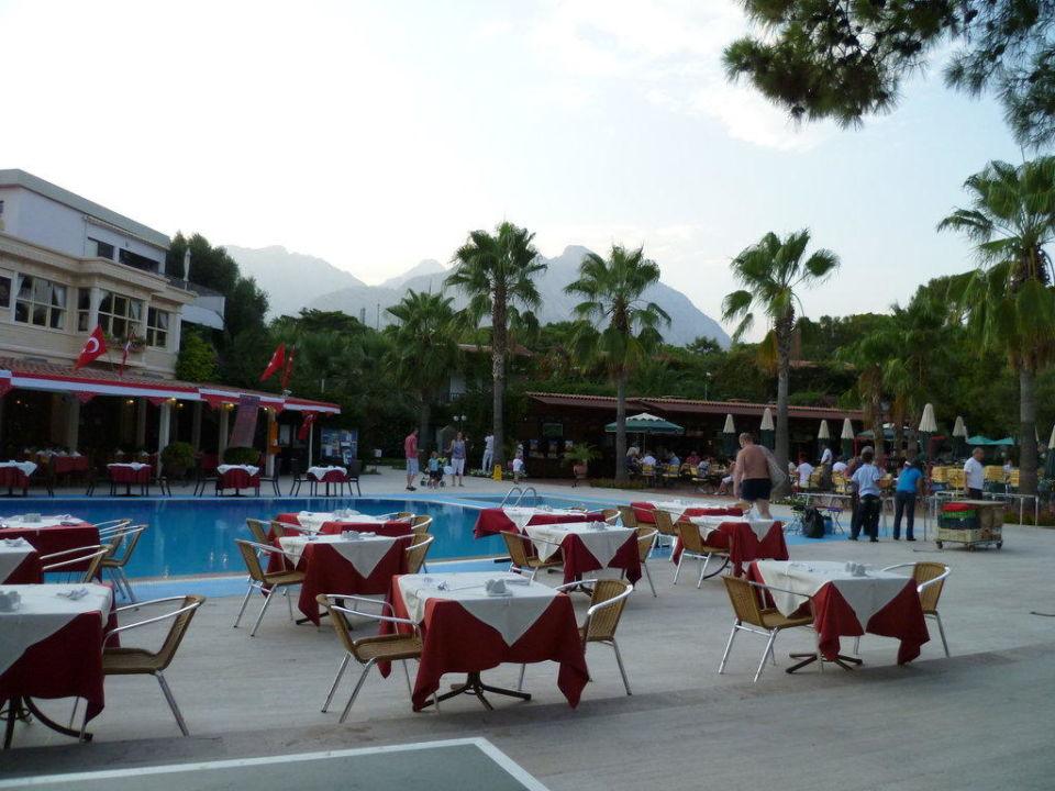 abend essen am pool hotel boran mare beach g yn k bei kemer holidaycheck t rkische. Black Bedroom Furniture Sets. Home Design Ideas