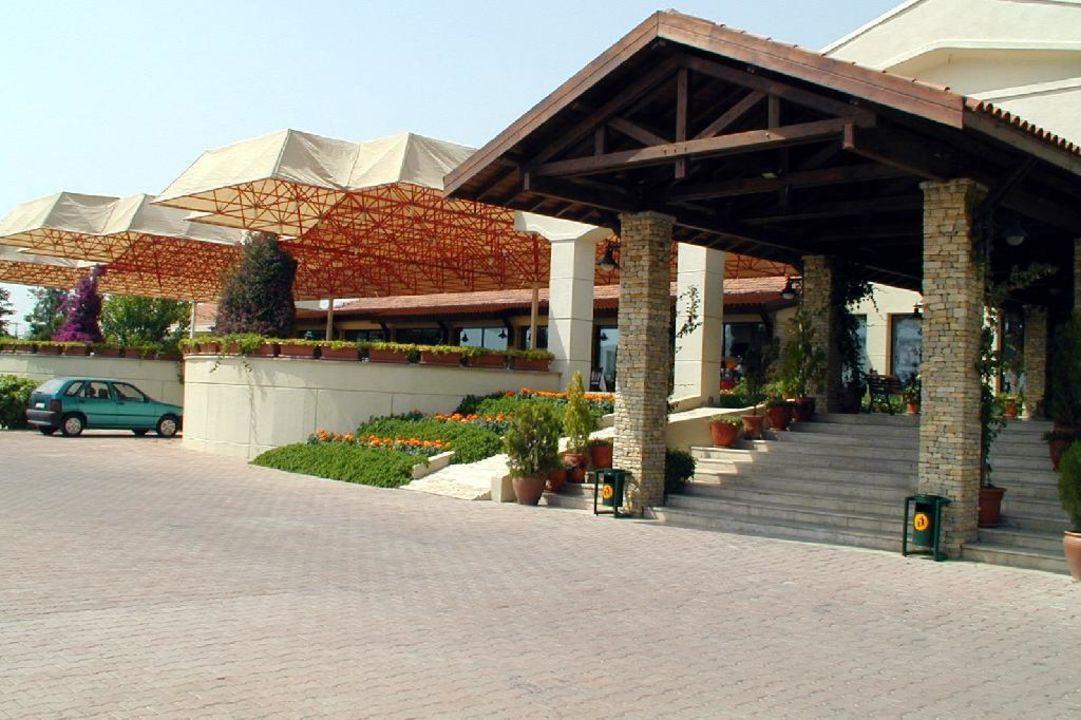 Eingangsbereich Costa Holiday Club