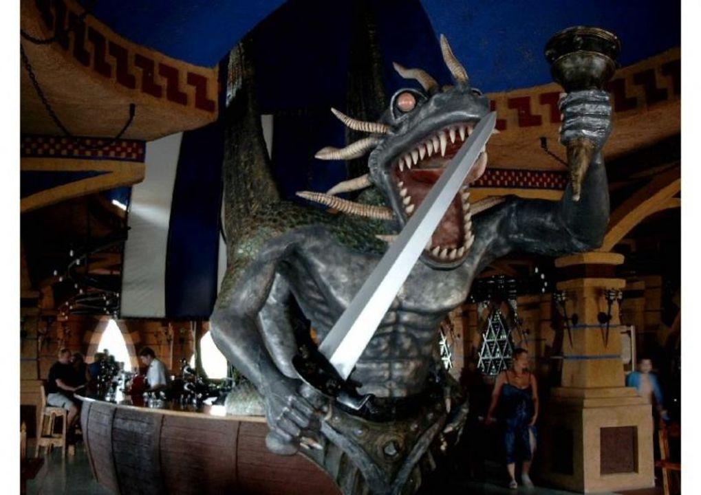 Dragon Bar - Kamelya World lti Kamelya Collection Hotel Selin Resort & SPA