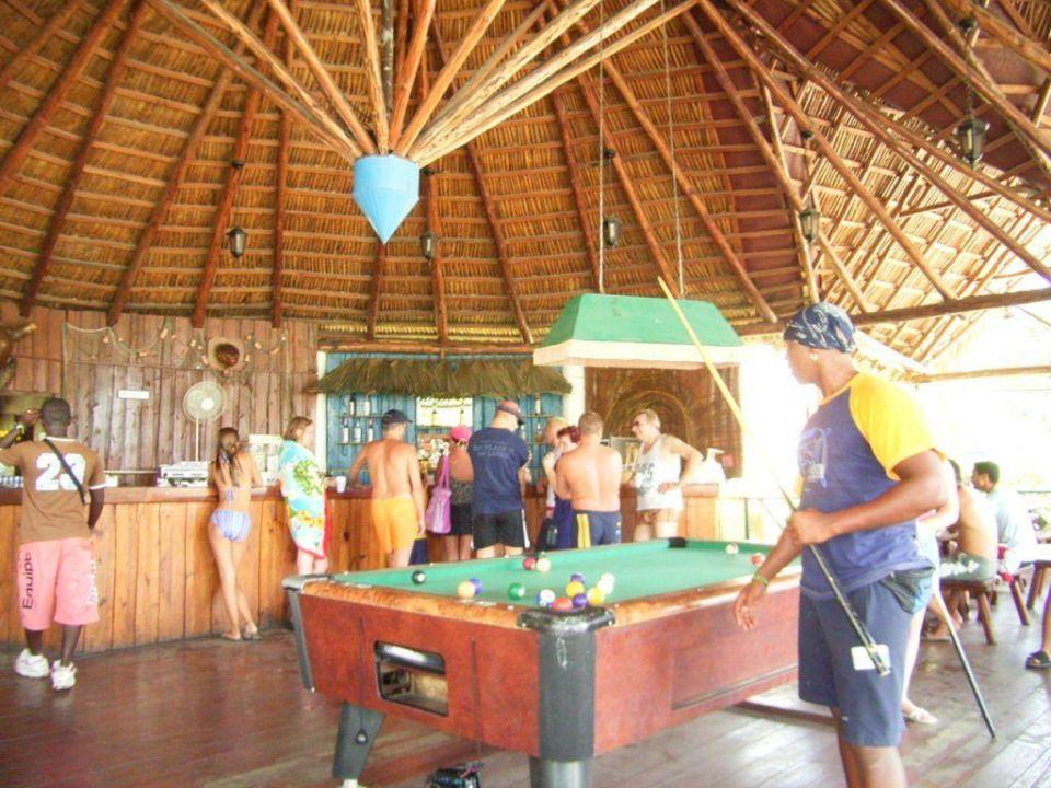 Billard im Hotel Kawama Hotel Gran Caribe Club Kawama
