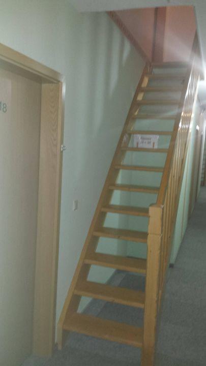 Super Flur Treppe ins Dachgeschoss?