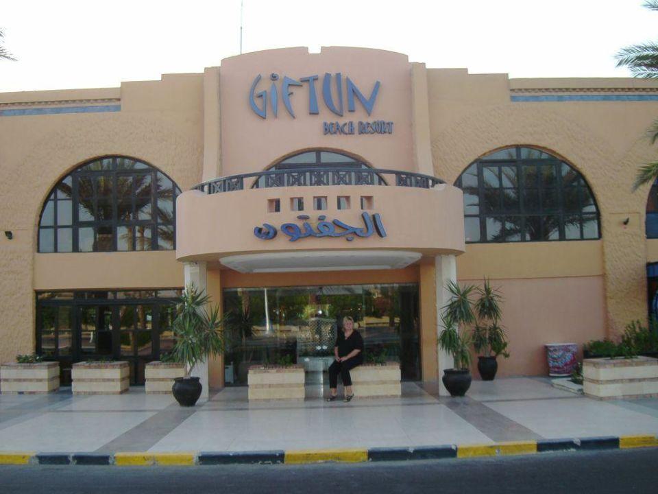 Hoteleingang Giftun Azur Resort