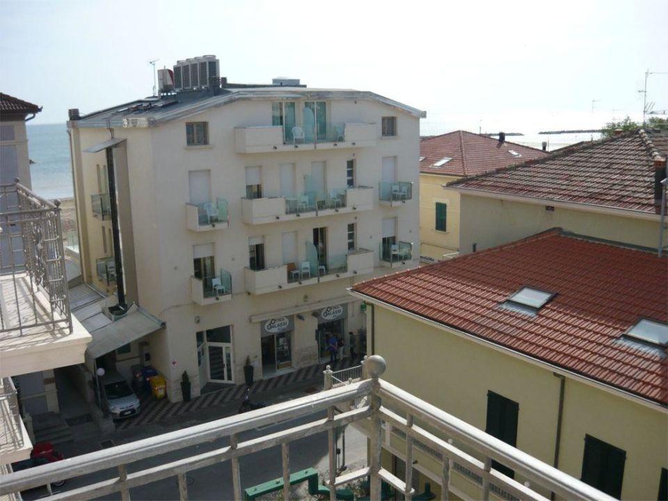 """Meerblick"" mit Hindernissen Hotel Stella D' Italia"