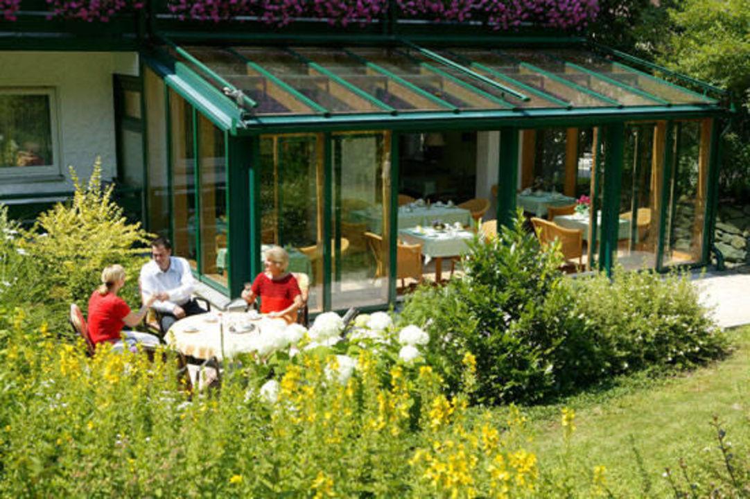 """""""Garten """" Hotel Garni Haus Christl Bad Griesbach im"""