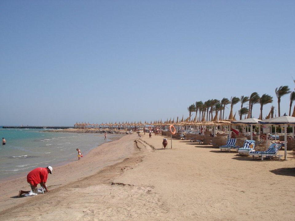 Strand vom Dana Beach Hotel Alf Leila Wa Leila