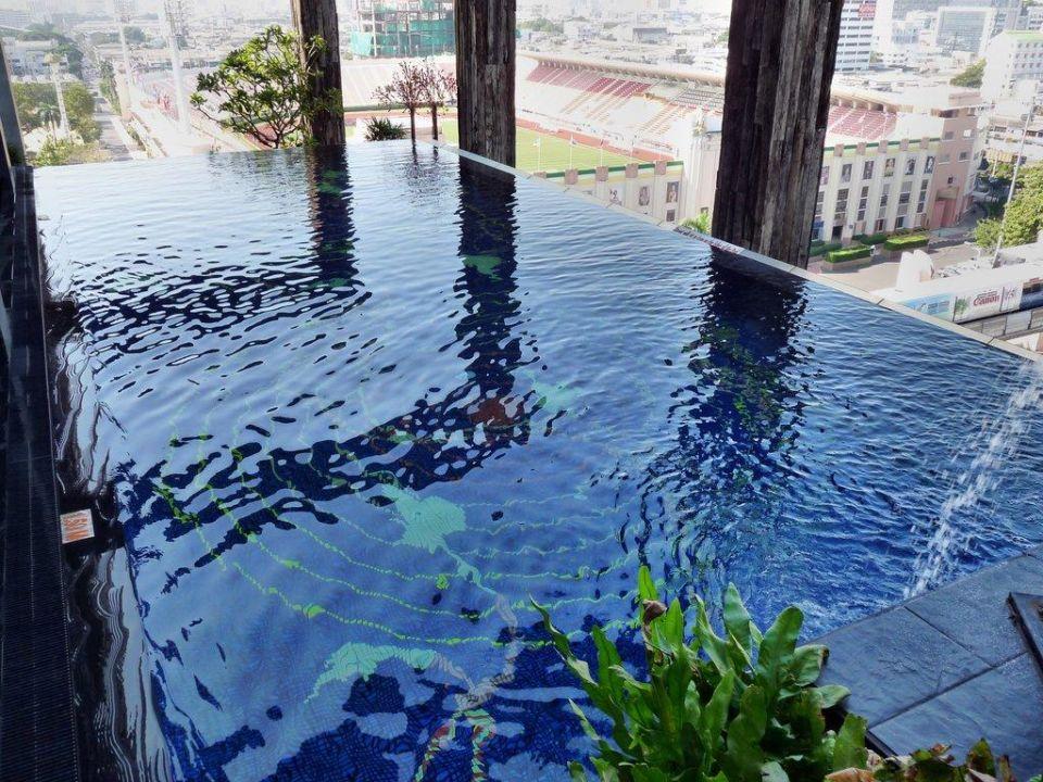 Schöner Ausblick Siam @ Siam Design Hotel Bangkok