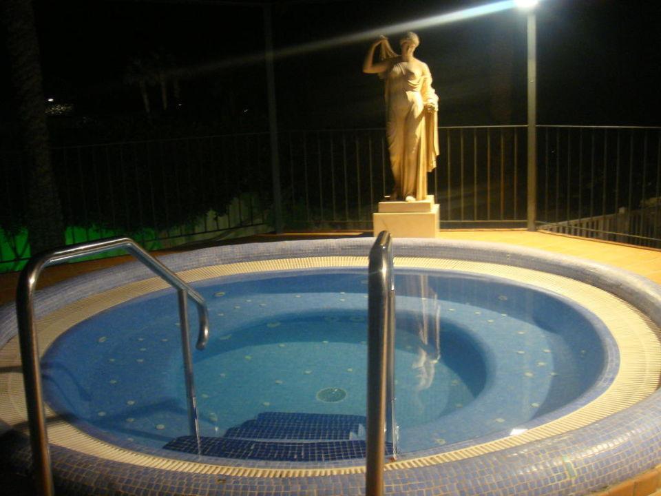 Jacuzzi bei Nacht Hotel Riu Palace Maspalomas
