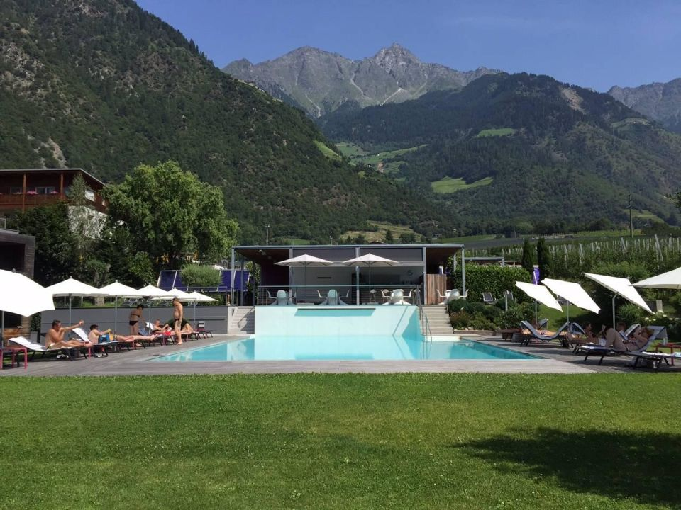Au enpool design hotel tyrol parcines partschins for Design hotel tyrol