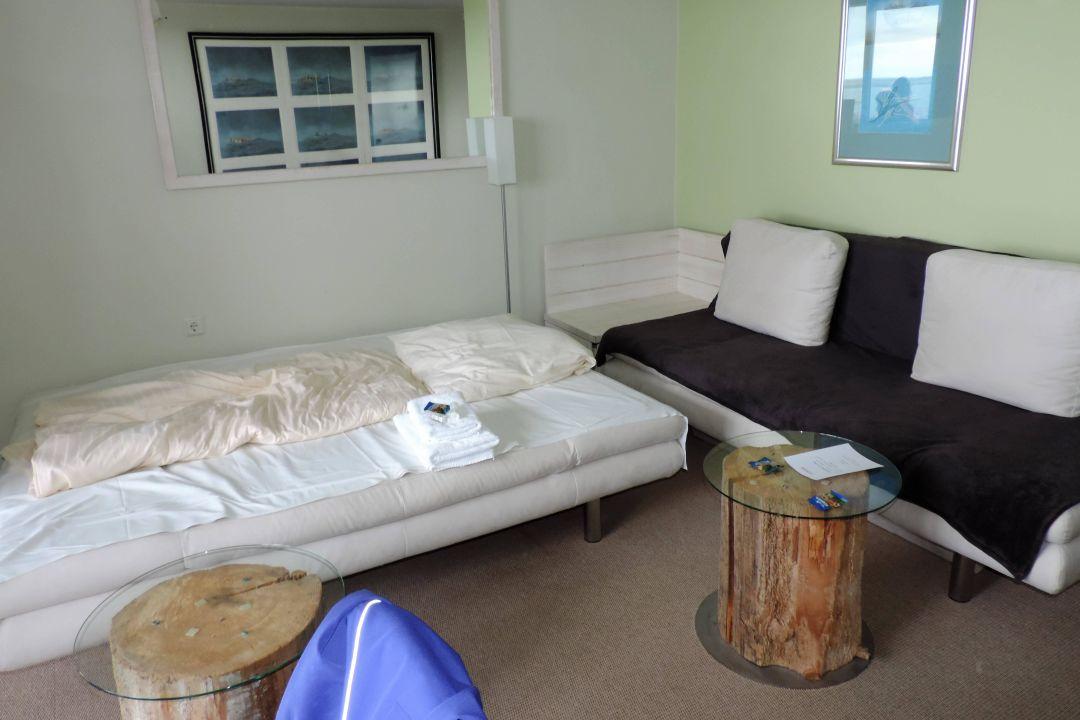 Suite - Wohnzimmer Hotel Rickmers Insulaner