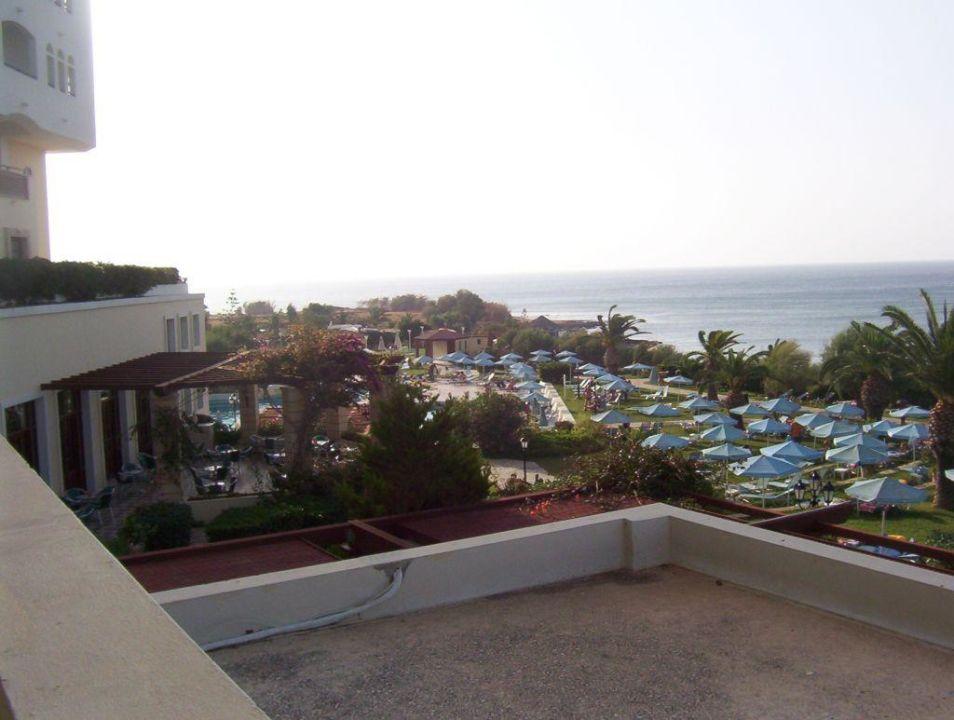 Blick auf den Pool Hotel Creta Star