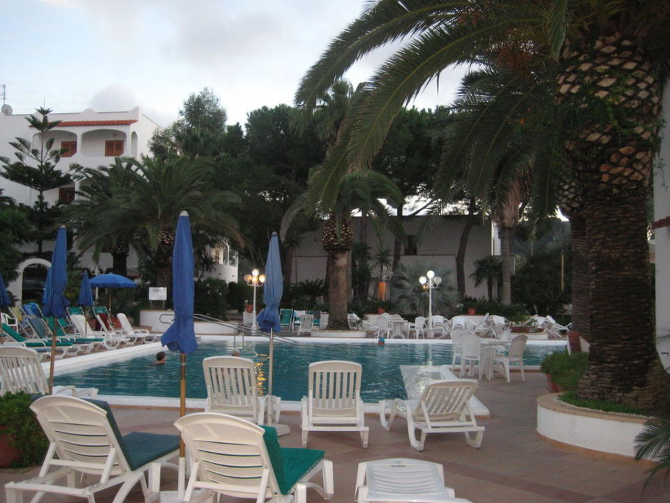 Blick auf den großen Thermalpool  Hotel Royal Palm Terme & Parco San Marco