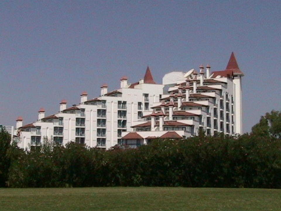 Vom fußball platz aus der club magic life sirene Green Max Hotel