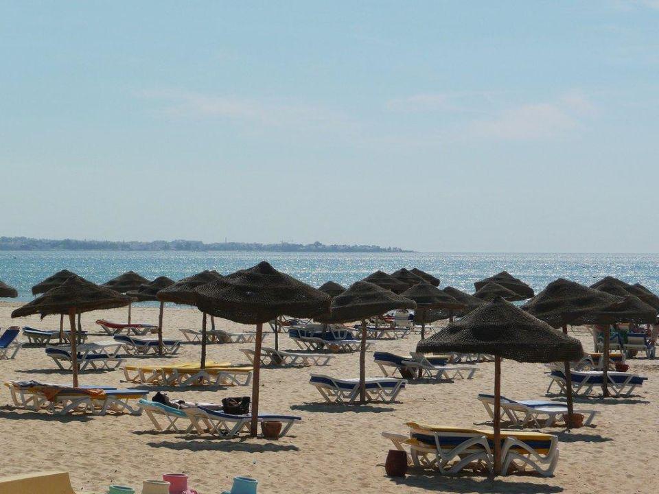 Der sauberste Strand Hotel Eldorador Salammbo