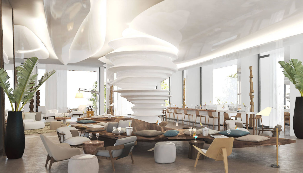 Hotel Lobby Nikki Beach Resort & Spa Dubai
