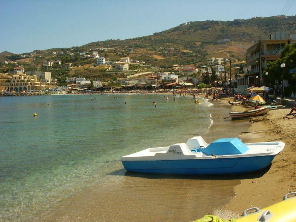 Strand von Agia Pelagia Hotel Alexander House