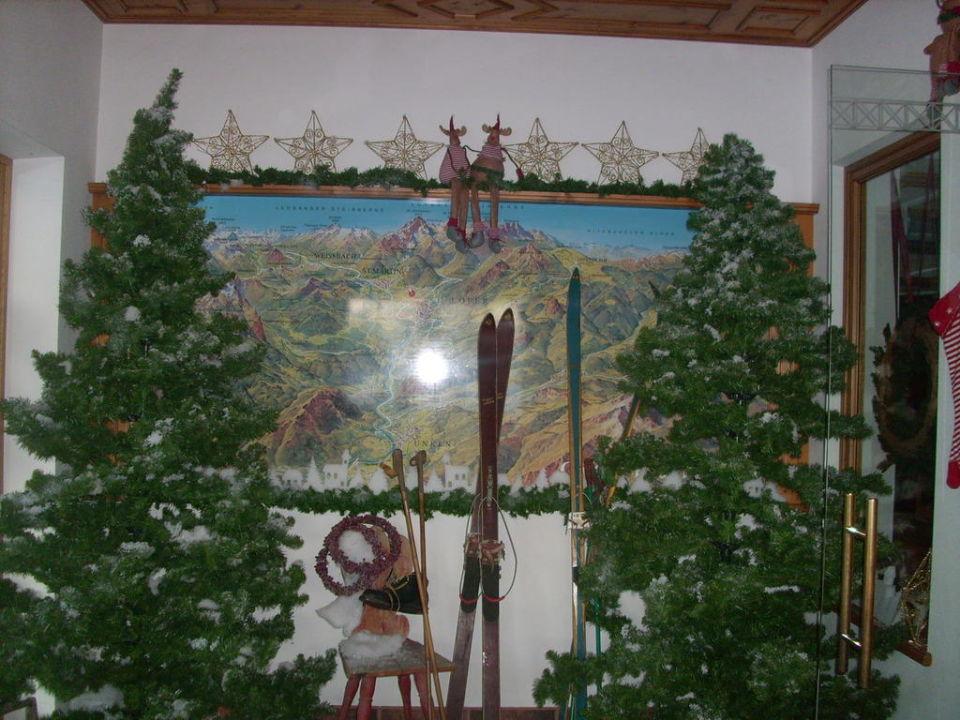 deko zu weihnachten hotel bad hochmoos st martin bei lofer holidaycheck salzburger land. Black Bedroom Furniture Sets. Home Design Ideas