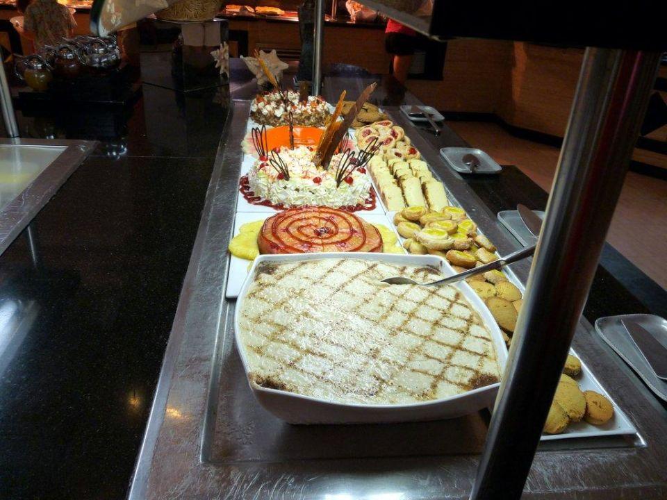 Teil vom Abendbuffet Grand Bahia Principe El Portillo