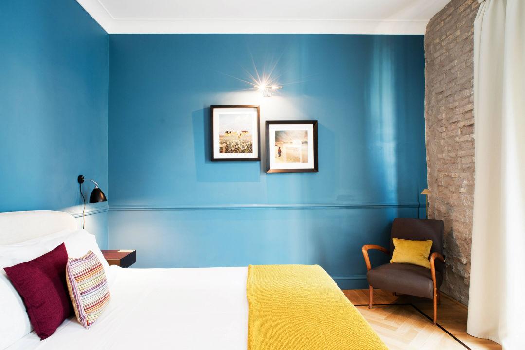 Deluxe Blue Room The Fifteen Keys Hotel
