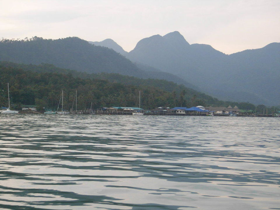 Blick vom Kajak Island View Resort & Spa