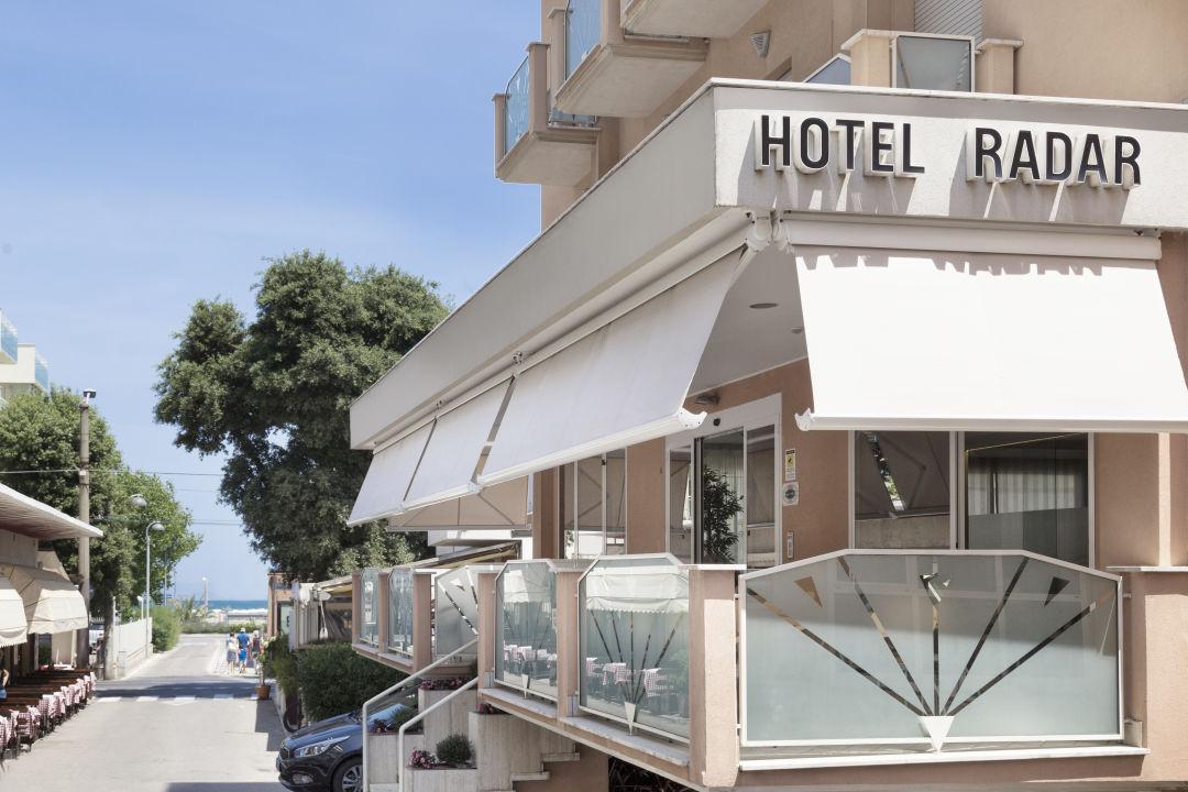 Außenansicht Hotel Radar
