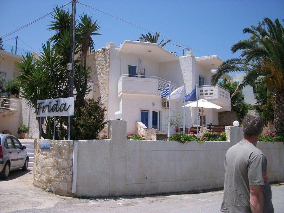 Außenansicht Frida Apartments