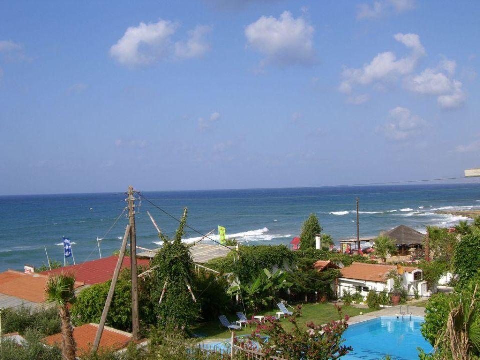 Aussicht vom Balkon Star Beach Village