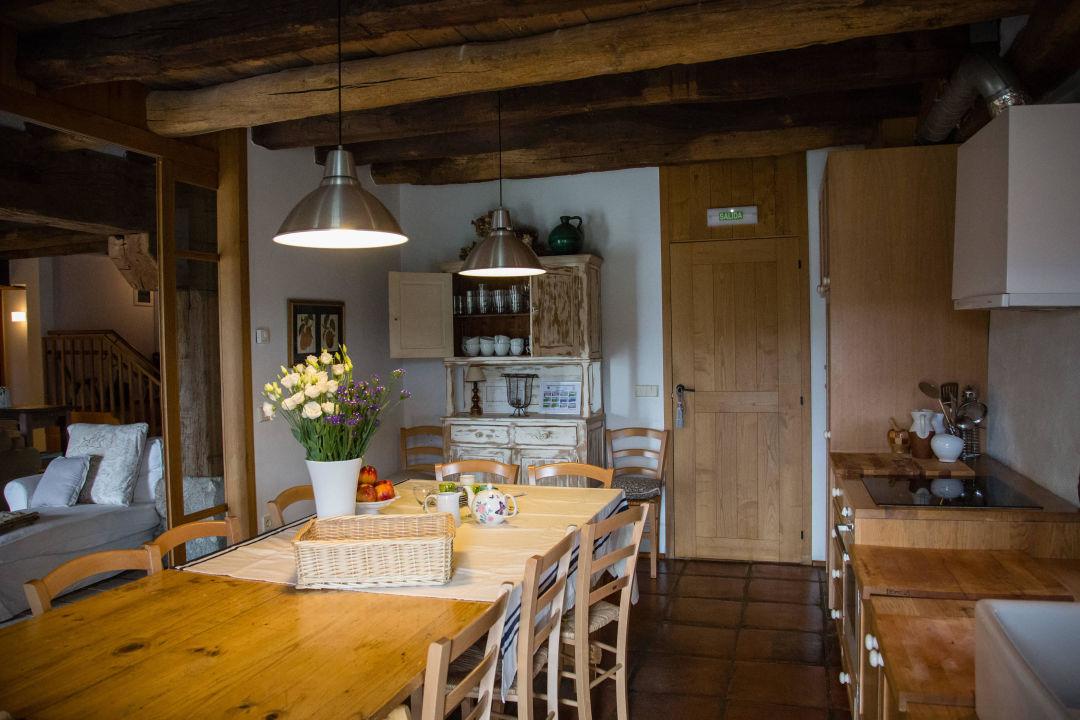 Cocina Rusticae Casa rural Azpikoetxea