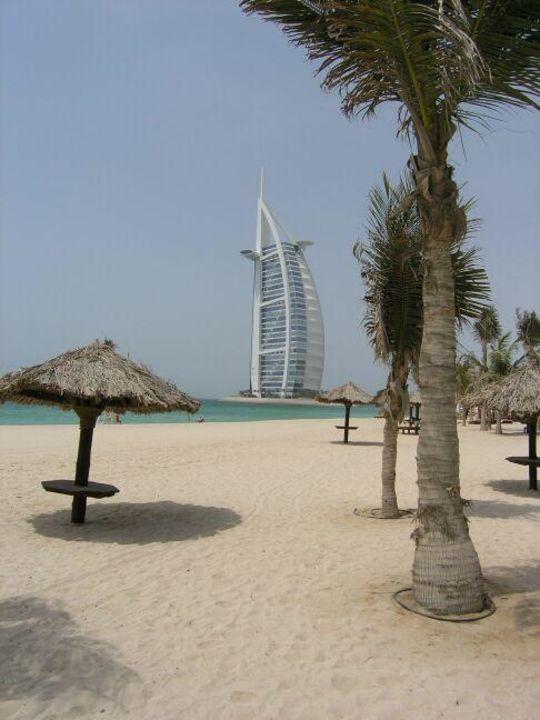 Dar al Masyaf - Dar al Masyaf - Strand vor dem Dar al Masyaf Hotel Madinat Jumeirah - Dar Al Masyaf