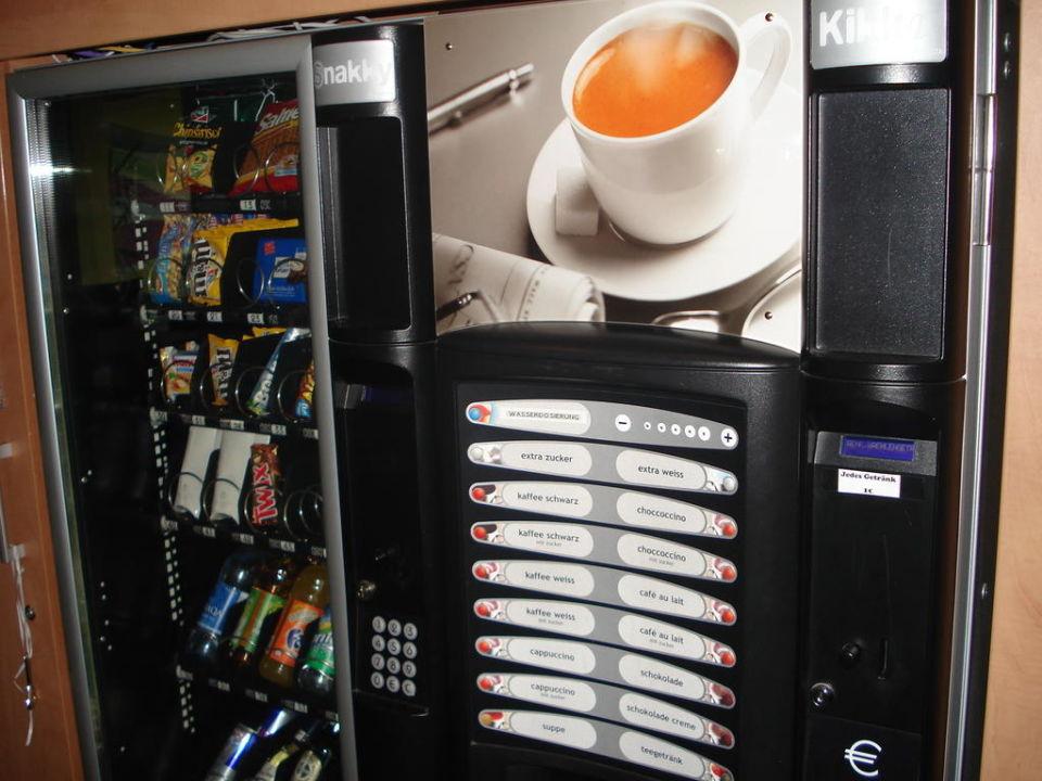 Snack und Getränkeautomat\