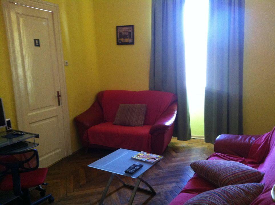 Wohnbereich f. alle mit Wasserspender, SATTV, 1 PC Hostel Sunseekers