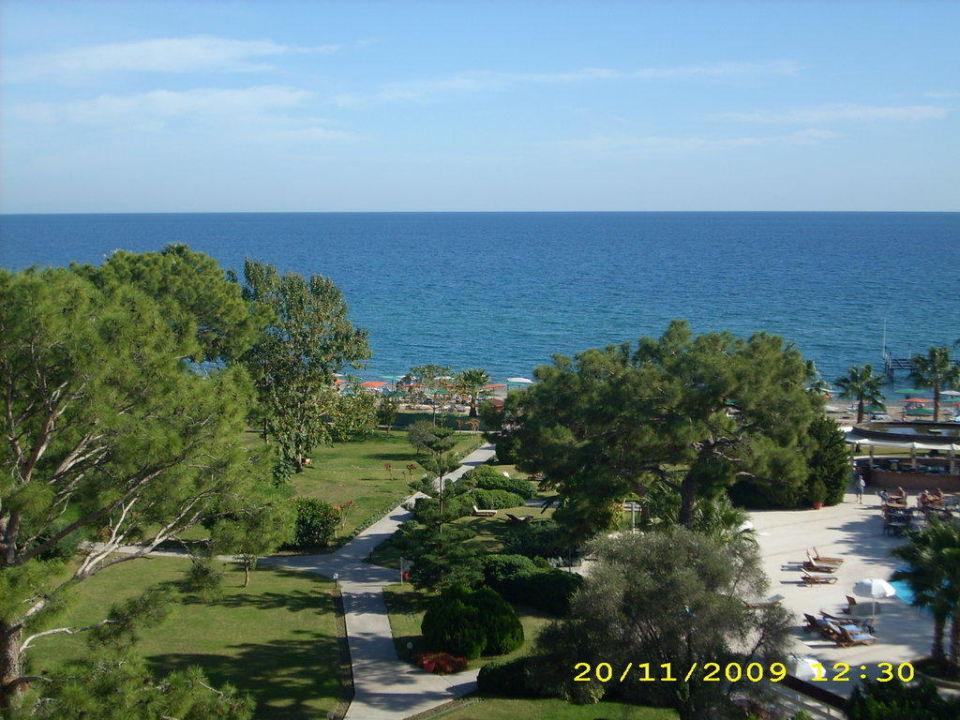 Blick vom Balkon Kilikya Palace Göynük